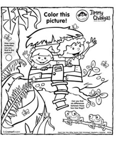 Jimmy Changas Fun Stuff to Color for Kids